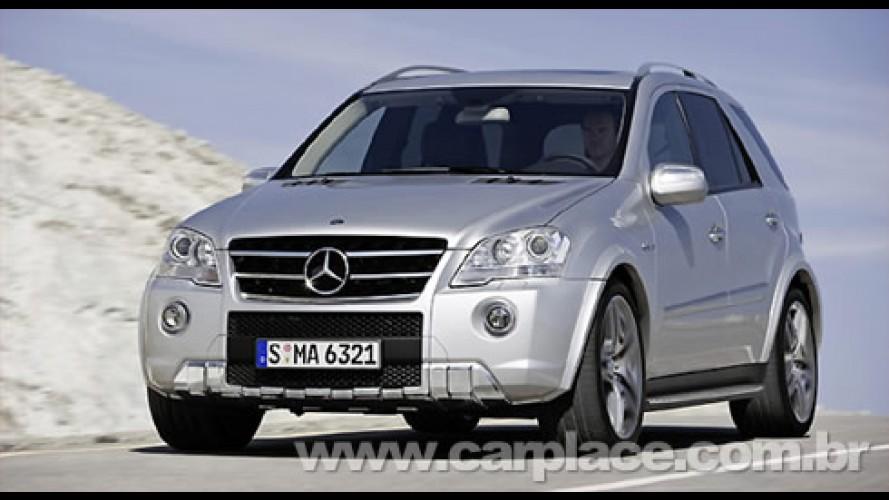 Mercedes lança linha 2009 reestilizada dos esportivos ML e ML 63 AMG