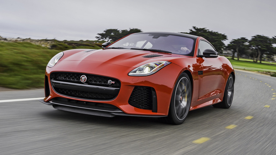 First Drive: 2017 Jaguar F-Type SVR