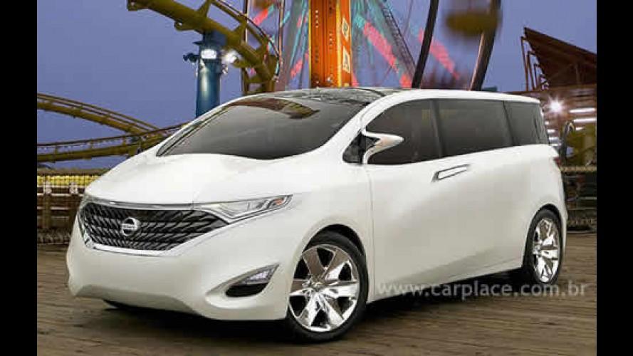 Nissan revela novas imagens do conceito Forum