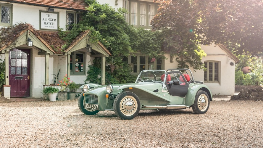 Caterham Seven Sprint is a purist's delight