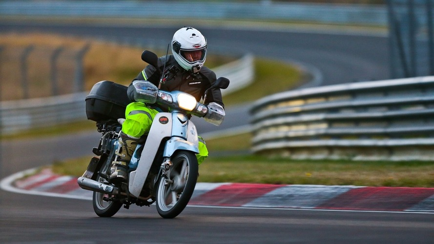 Bike rider travels 18,000 km to the Nurburgring to fulfill a dream