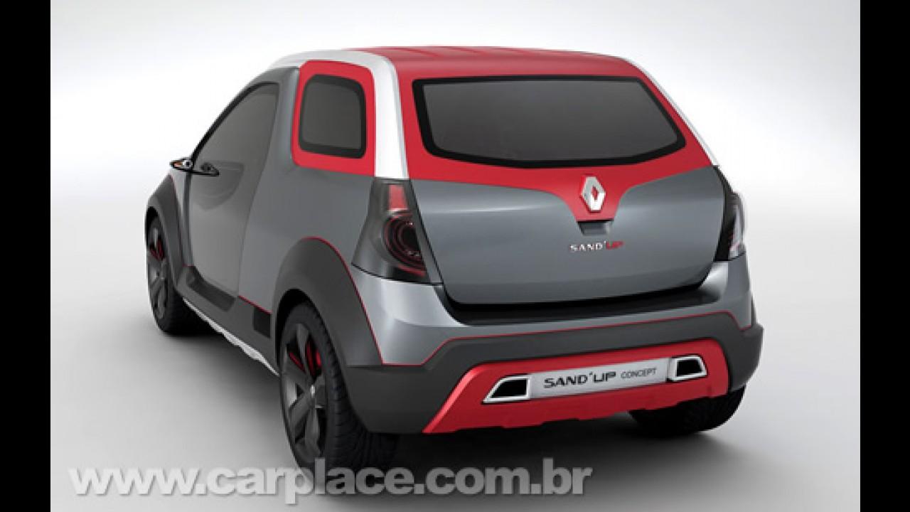 Salão do Automóvel 2008 - Renault apresenta o protótipo brasileiro Sand'up