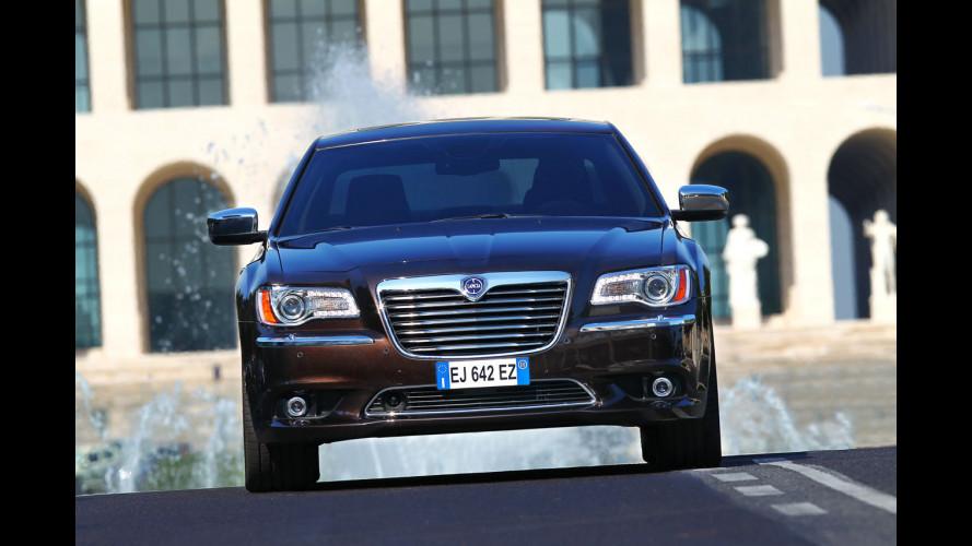 La Lancia Thema sfida le tedesche da 41.400 euro