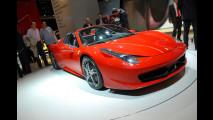 Ferrari 458 Spider al Salone di Francoforte 2011