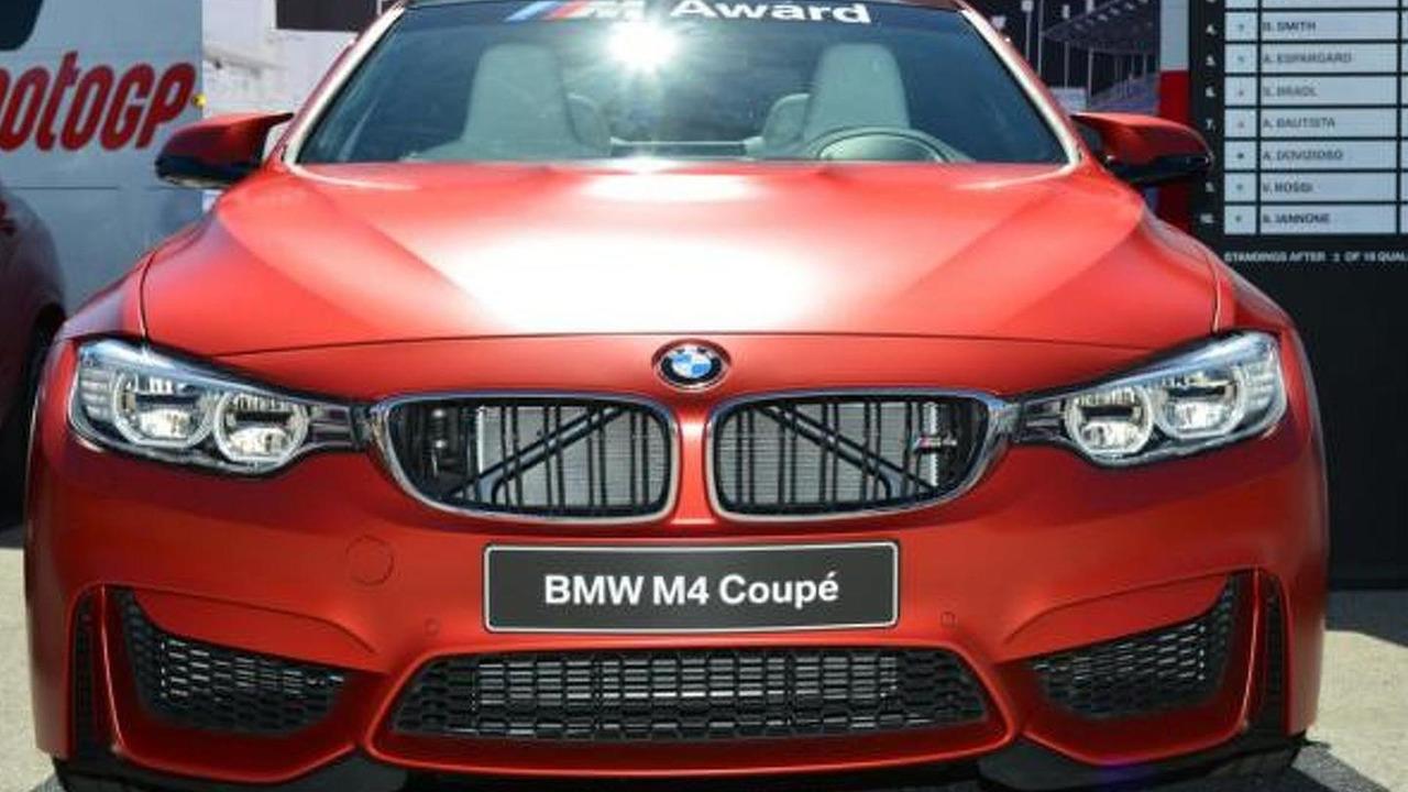 BMW M4 Coupe for MotoGP winner
