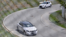 2014 Mercedes-Benz GLA spy photo