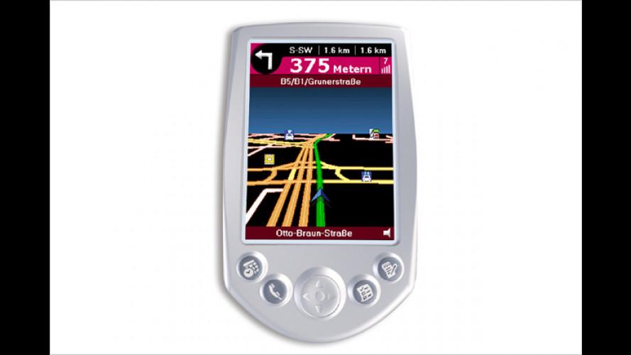 Navigieren mit dem PDA: ViaMichelin verbessert Software