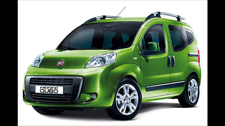 Automobilhersteller Fiat schickt den Fiorino Qubo ins Rennen