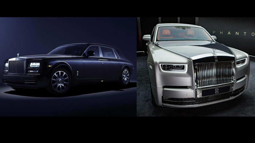 2018 Rolls-Royce Phantom: See The Changes Side-By-Side