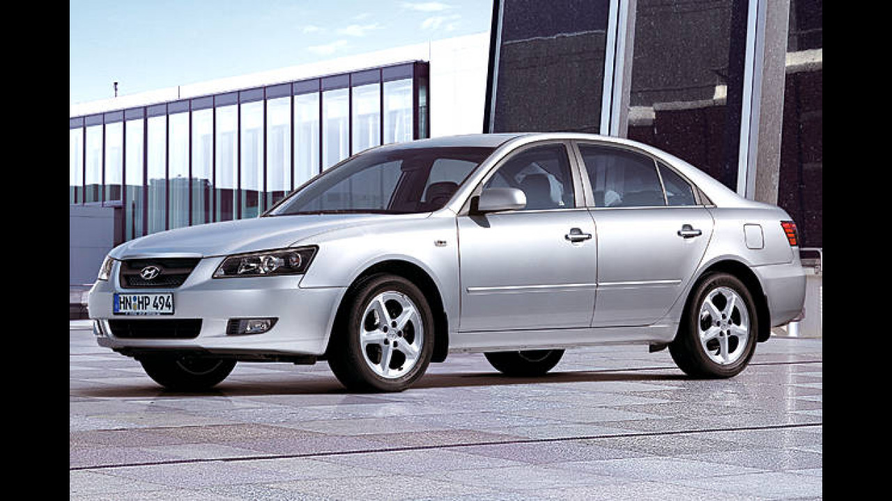 Platz 13: Hyundai Sonata 3.3 V6 GLS Automatik