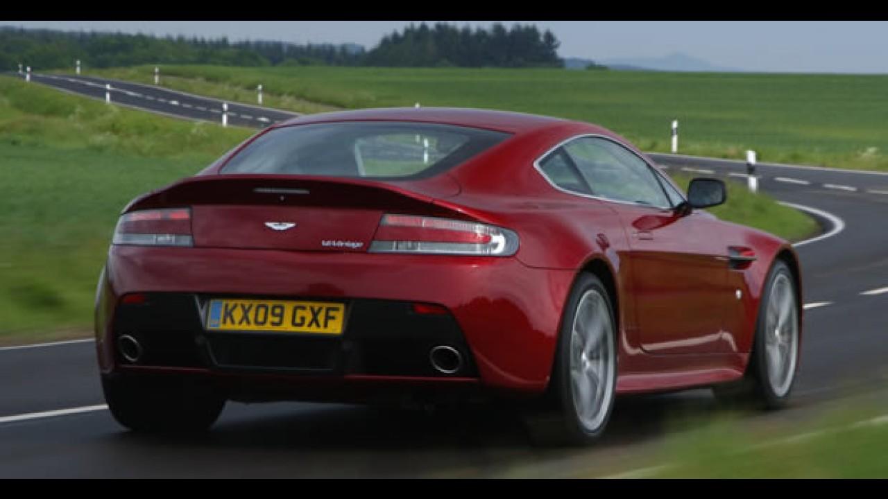 Aston Martin adiciona o V12 Vantage em seu curso de pilotagem nos Estados Unidos