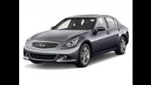 Novo Infiniti G37 está à venda no México - Motor V6 de 328 cv e preço inicial equivalente a R$  76.310,00