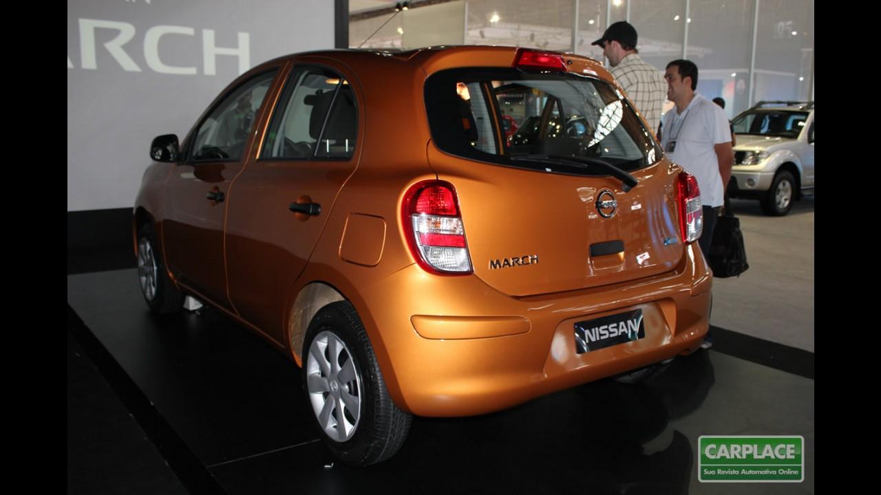 Nissan March no Salão do Automóvel 2010