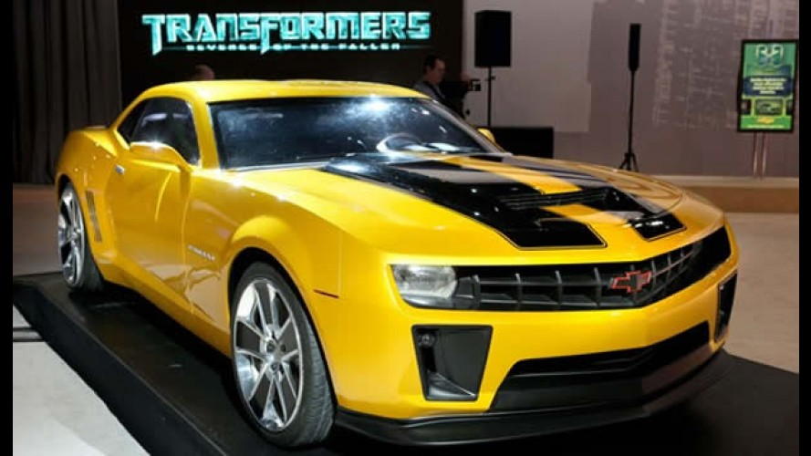 GM planeja lançar a versão especial Camaro Bumblebee inspirada no filme Transformers