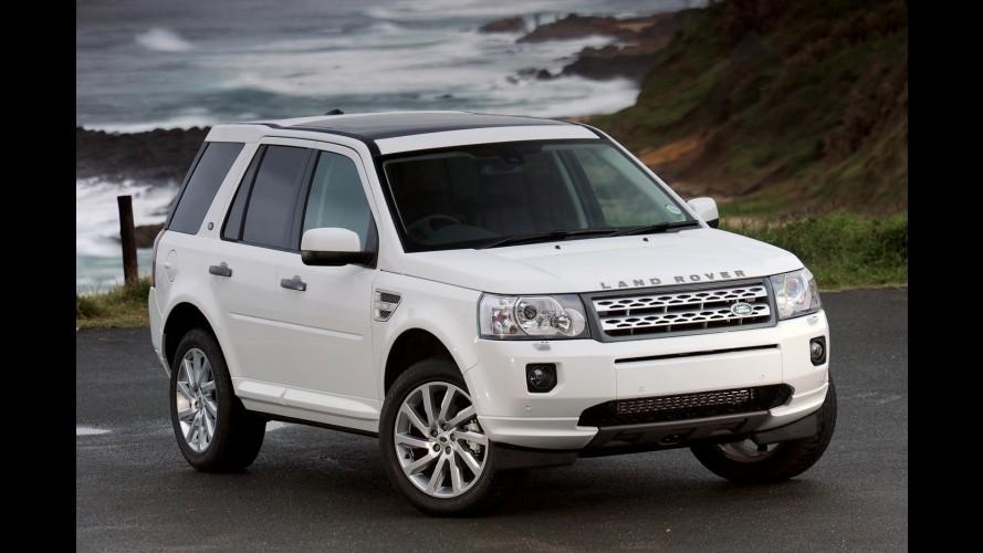 Próxima geração do Land Rover Freelander poderá usar motor 2.0 turbo da Chery