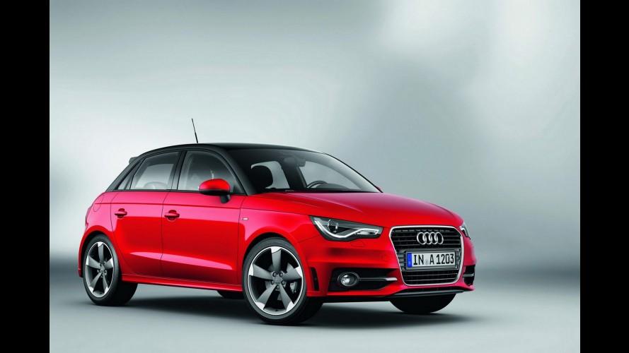 Audi A1 Sportback custará o equivalente a R$ 40.000 no Reino Unido