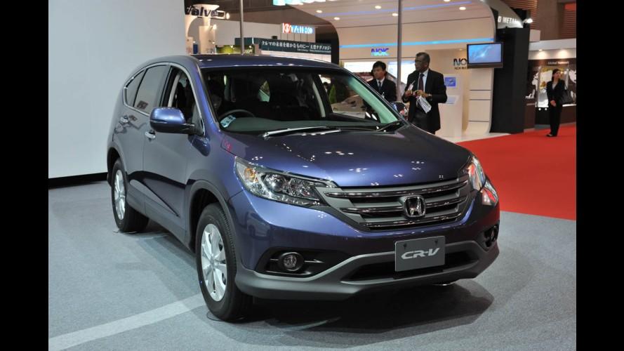 Salão de Tóquio: Novo Honda CR-V 2012 ao vivo
