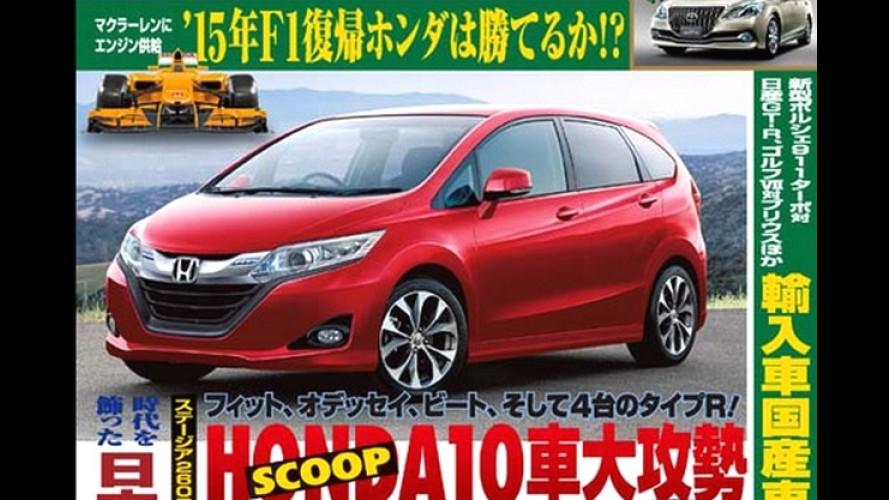 Surgem novos esboços sobre o próximo Honda Fit
