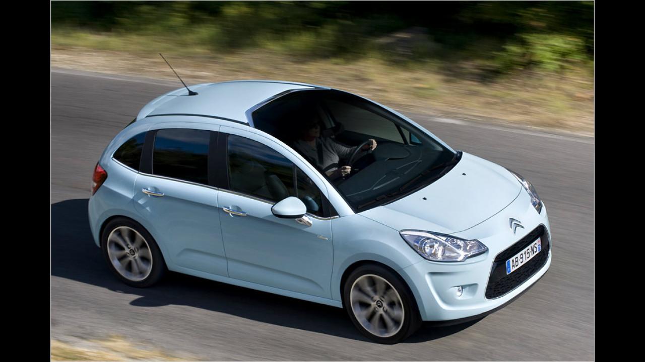 Geteilter Platz 9: Citroën C3 e-HDi 90