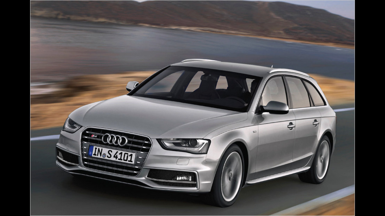 Platz 8: Audi S4 Avant