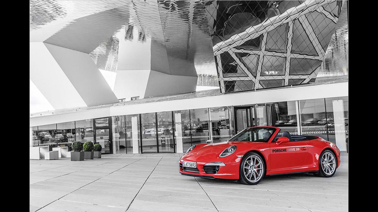 Porsche fahren ab 69 Euro pro Stunde