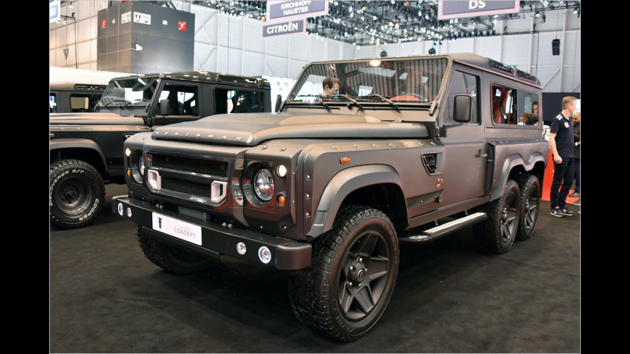 Kahn Flying Huntsmann 6x6