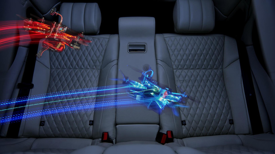 Jaguar XJL Stars In Game Of Drones To Show Its Roomy Interior