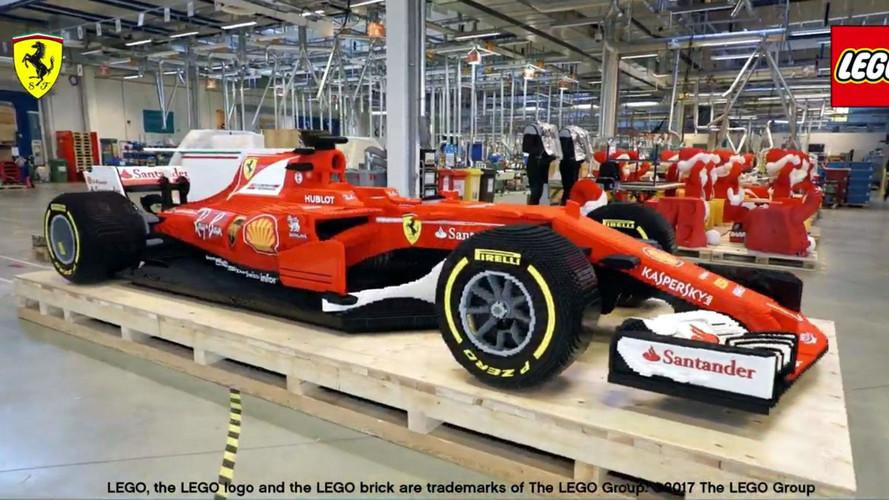 Lego Formula 1 aracının doğuşunu izleyin!