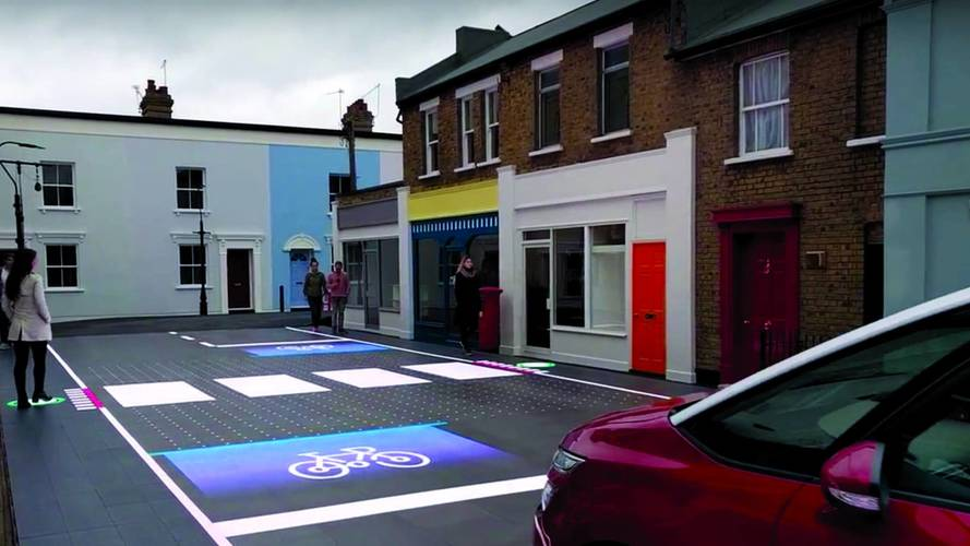 Responsive Road With LEDs And Cameras Could Reduce Accidents