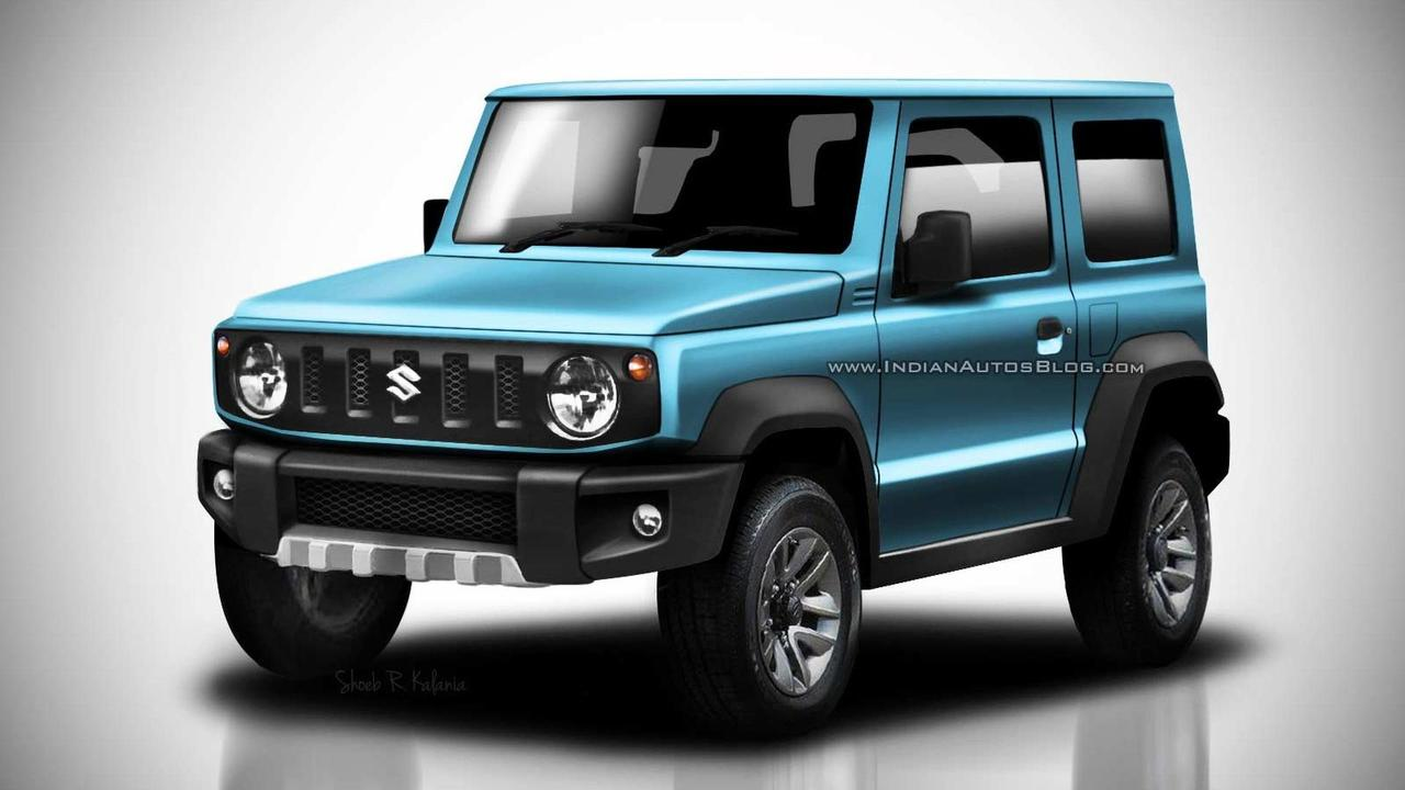 2018 Suzuki Jimny Leaked Images Go High Res In Colorful