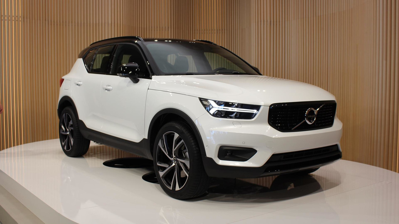 2018 volvo xc40 live photos. Black Bedroom Furniture Sets. Home Design Ideas