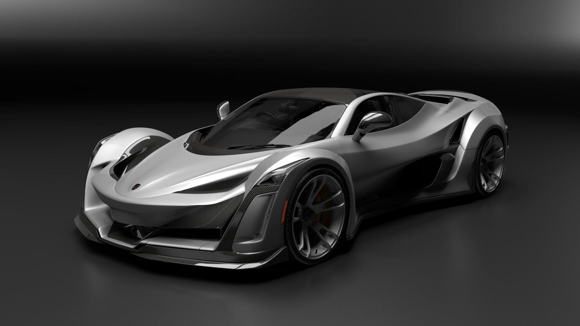 Super Cars For Sale >> Porsche-Powered Anibal Icon Is Canada's Crazy 920-HP Hypercar