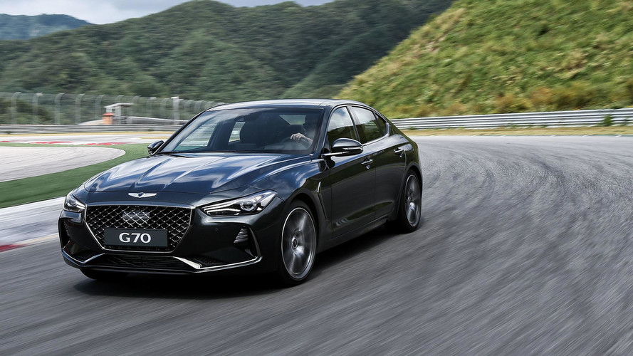 2019 Genesis G70 Will Get Three Pedals And A Six-Speed Manual