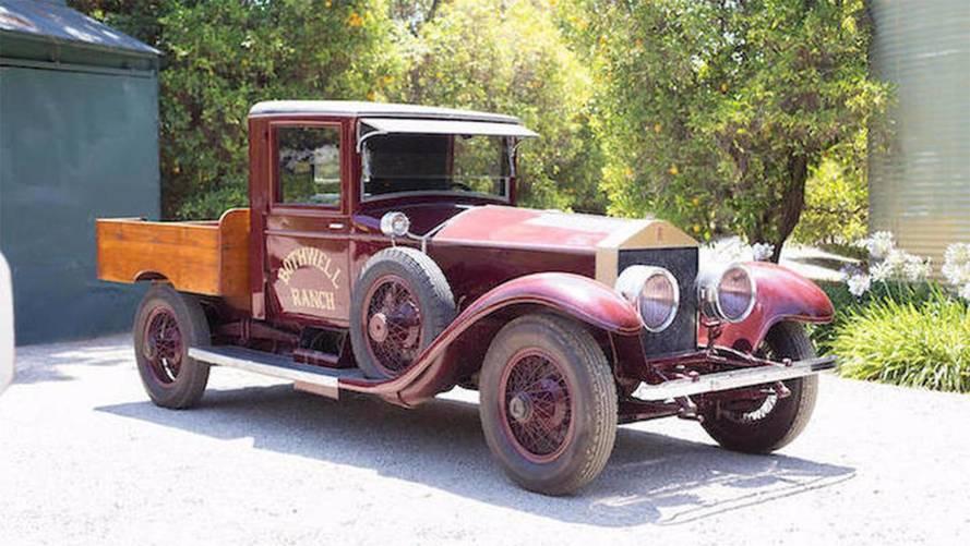 Enchères - Qui veut un pick-up Rolls-Royce ?