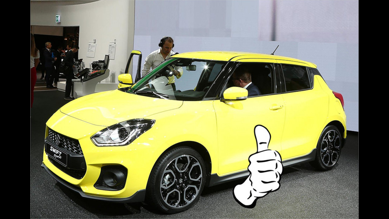 Manuel Lehbrink – Top: Suzuki Swift Sport
