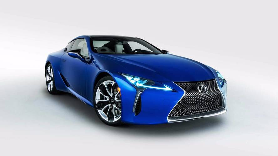 Lexus LC 500 Models Featured In The Upcoming Black Panther Movie