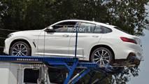 BMW X4 spy photo