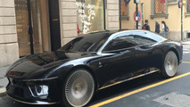 Italdesign Giugiaro GEA concept spotted on the streets of Milan