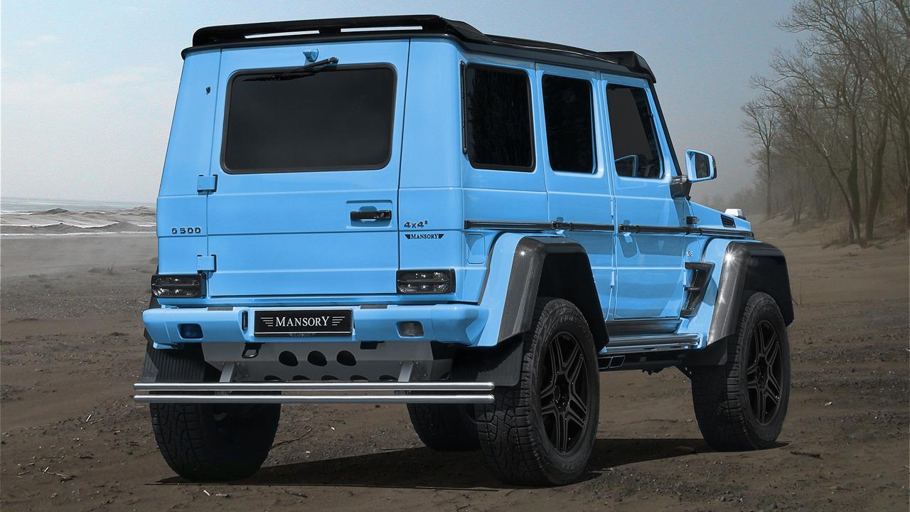 Mercedes-Benz G500 4x4 2