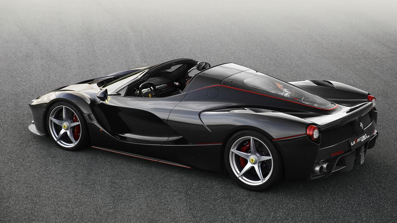 Ferrari LaFerrari open-top Spider