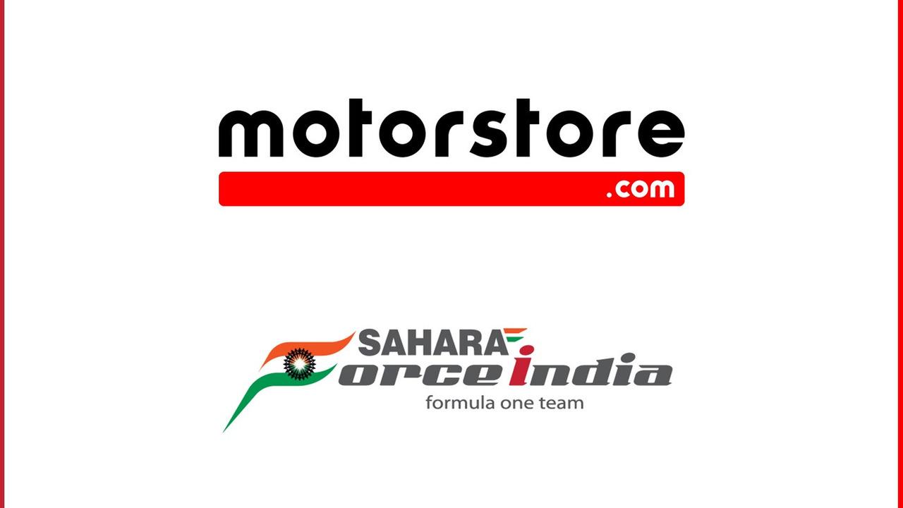 Motorstore.com and Sahara Force India partnership
