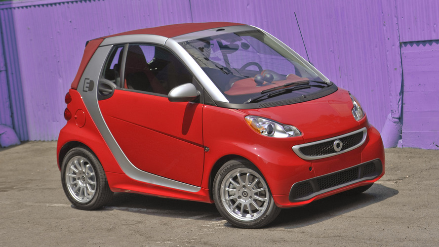 2018 Smart Fortwo Electric Drive Cabriolet Review Fun