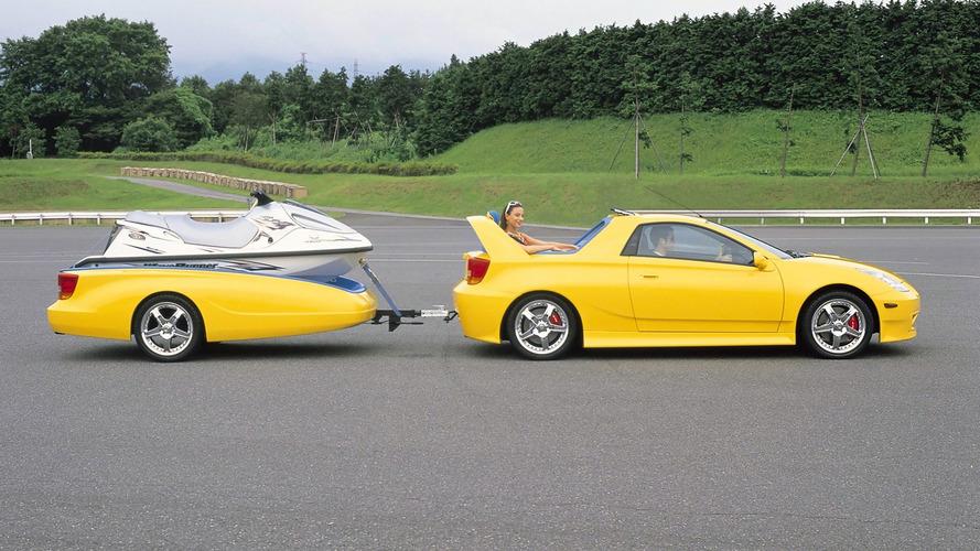 Toyota Celica Cruising Deck Concept (1999) - Conçue pour les loisirs