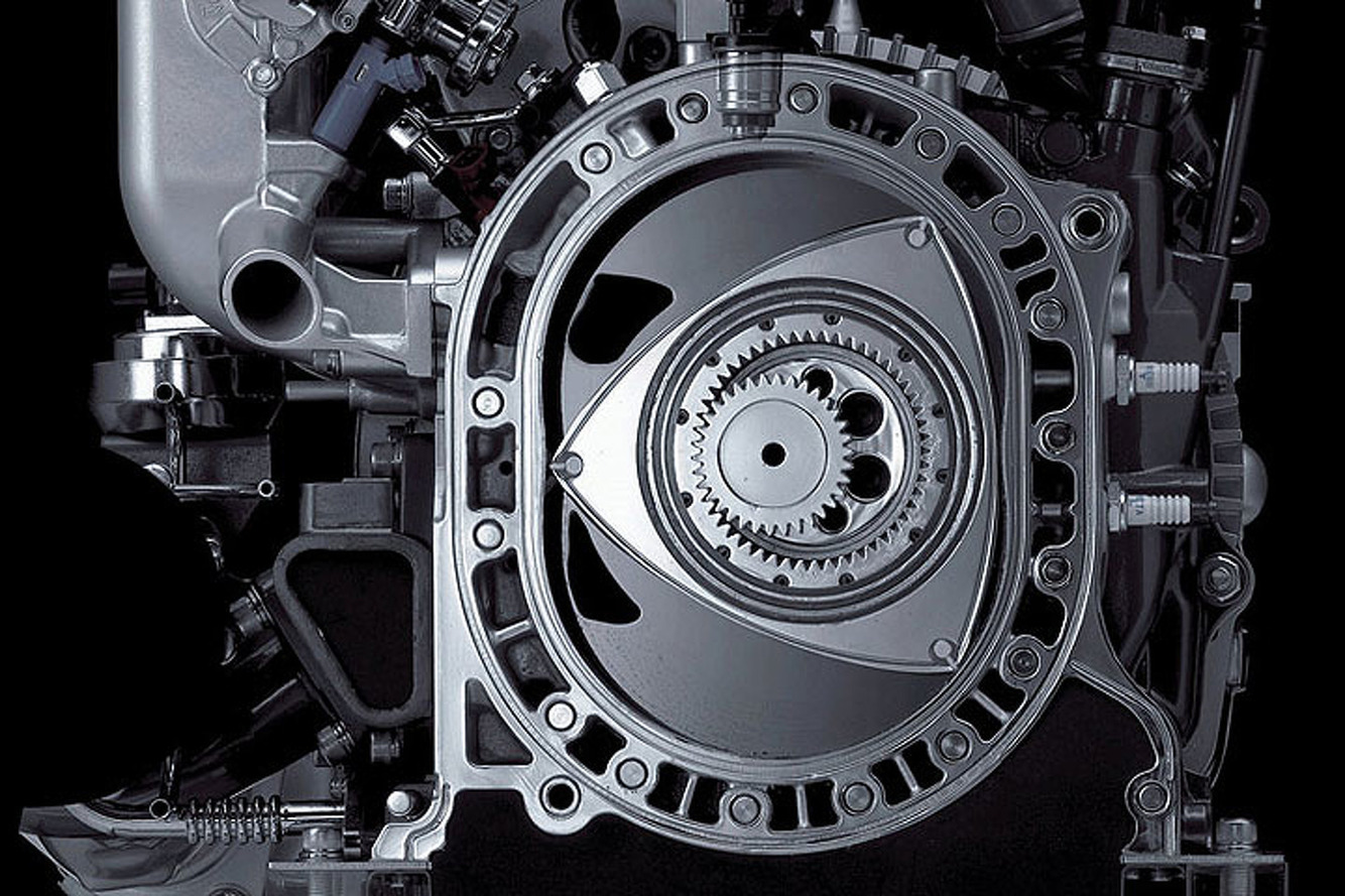 Watch How a Wankel Rotary Engine Works