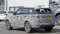 Range Rover Sport SVR spy photo