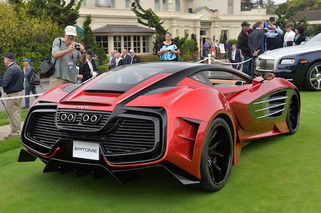 1,750HP, $2M Laraki Epitome Concept Awes at Pebble Concours