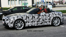 Next Gen BMW Z4 Spied with Top-Down