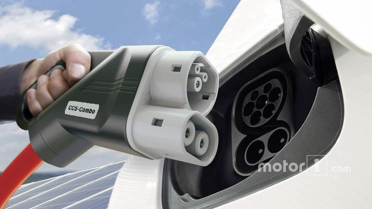 Station de charge de véhicules électriques