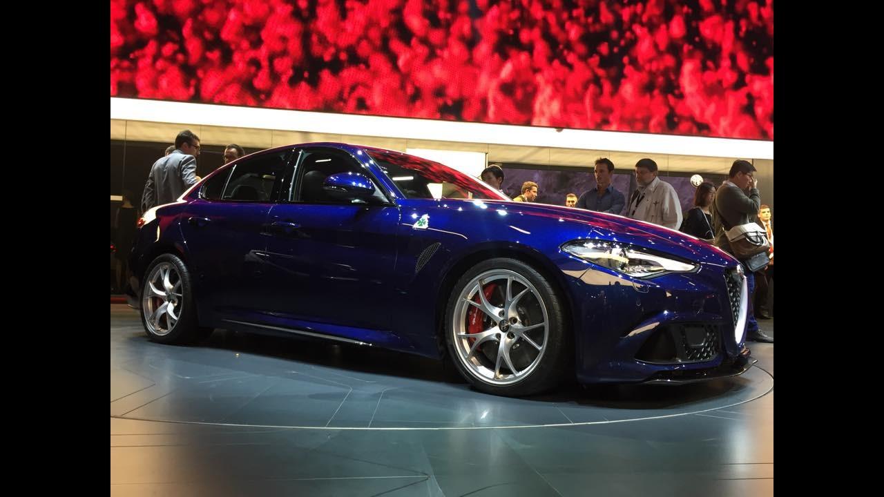 Sangue italiano: Alfa Romeo Giulia tem gama de motores divulgada por site