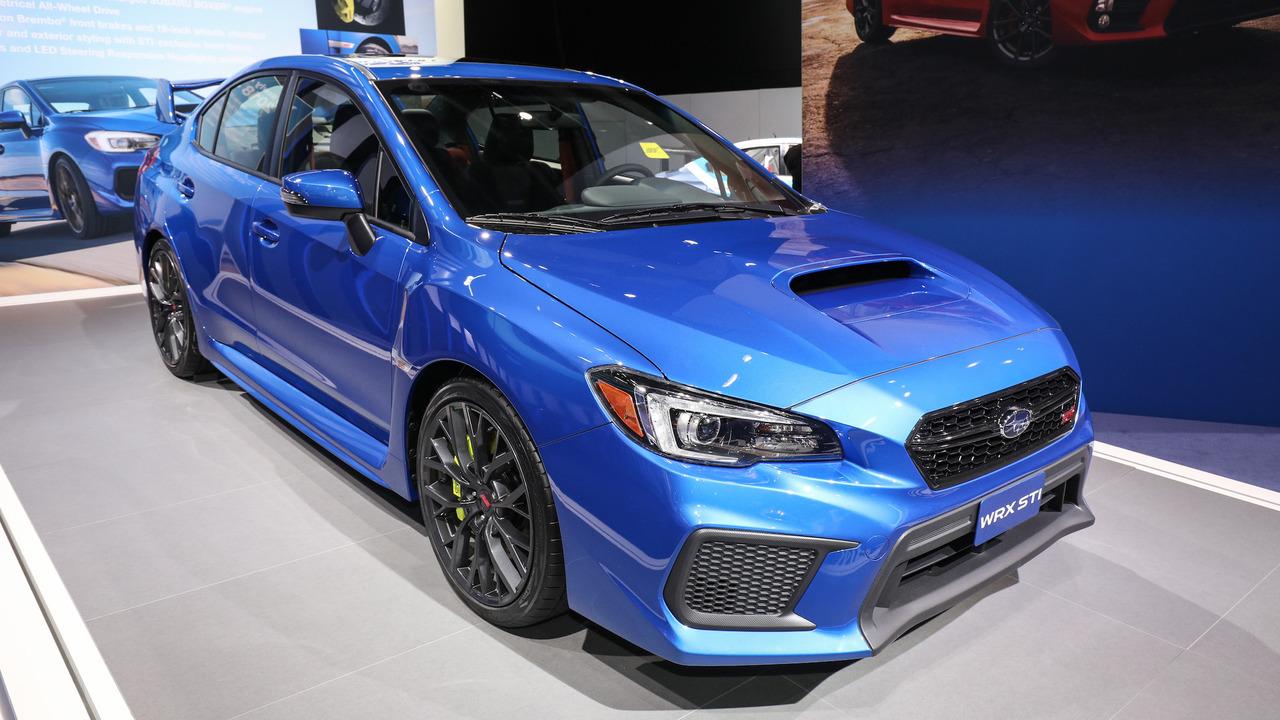 2018 Subaru WRX and WRX STI: Detroit 2017
